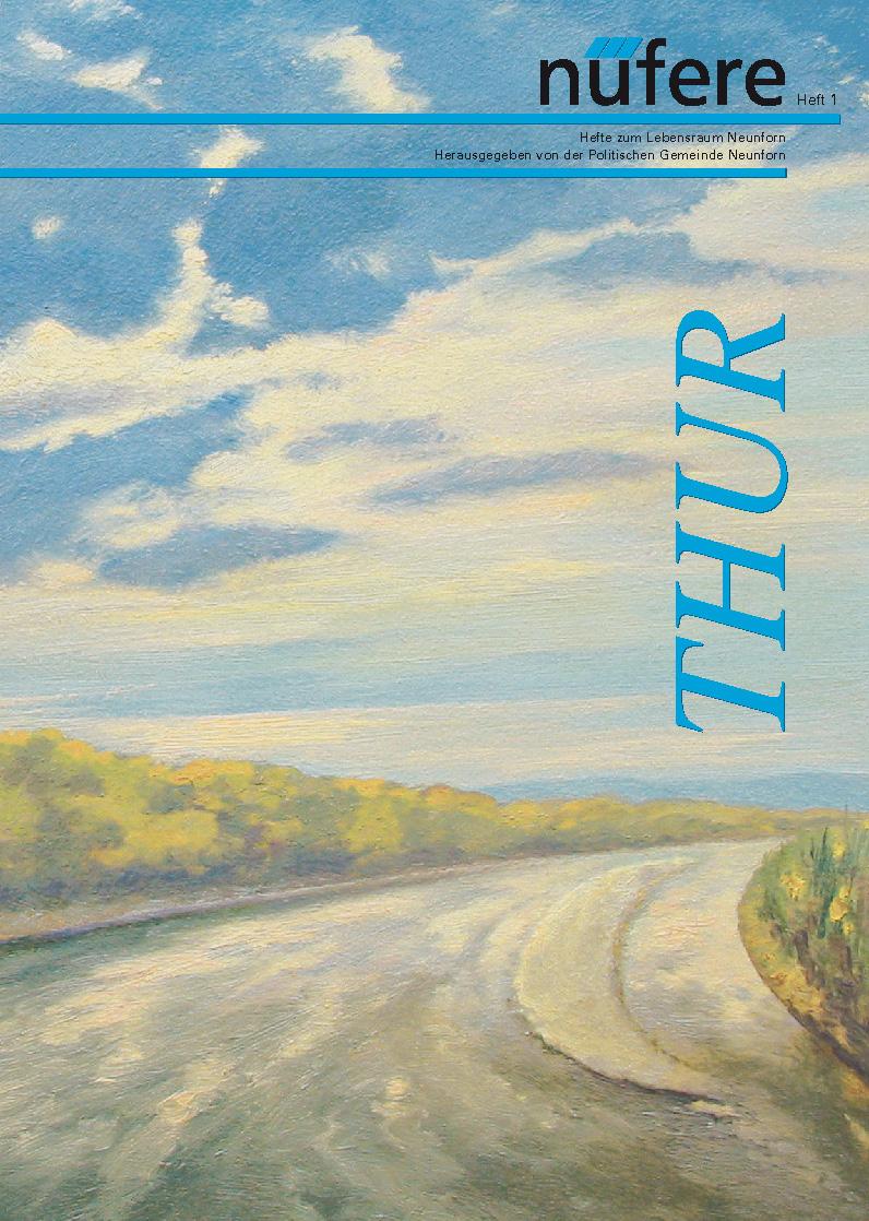 Heft Nr. 1 - Thur