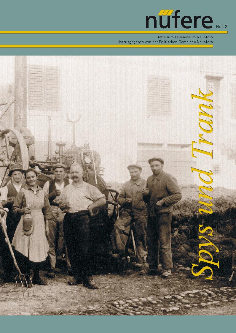 Heft Nr. 2 - Spys und Trank