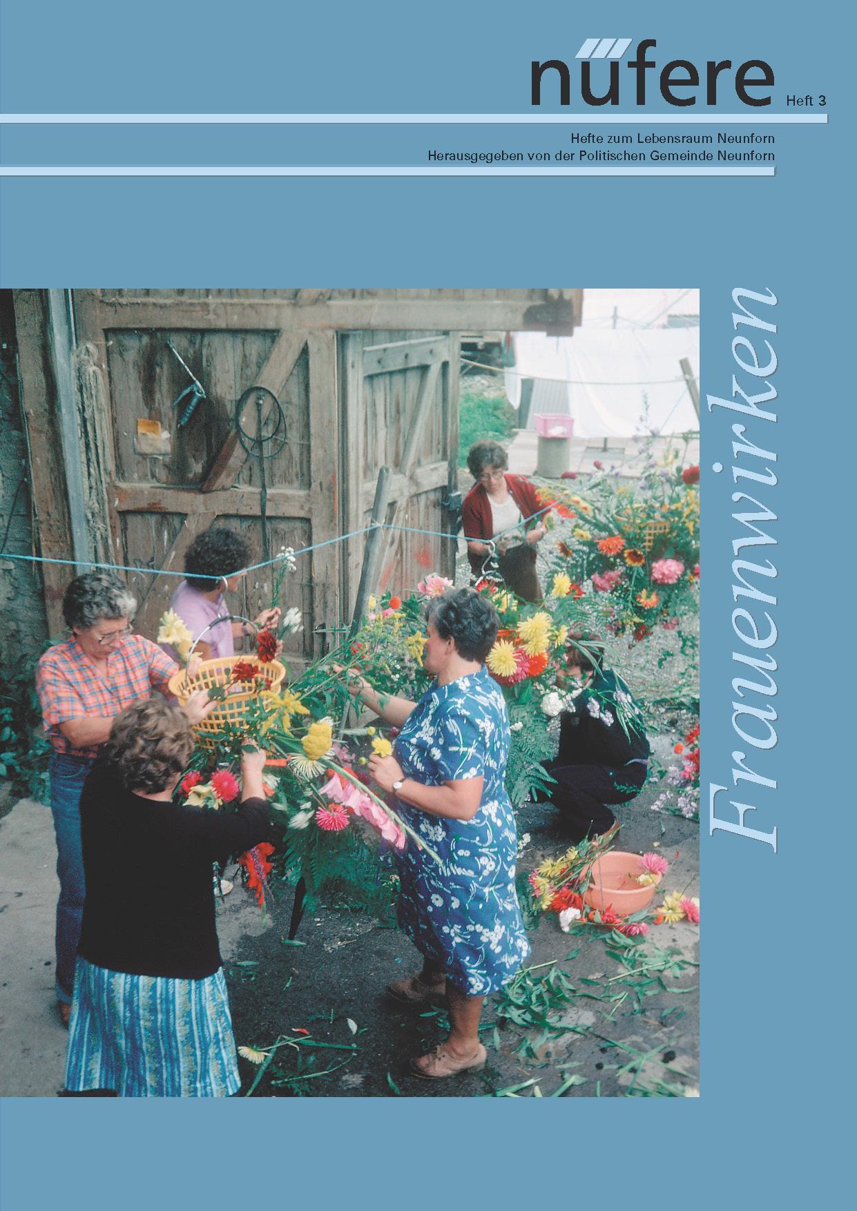 Heft Nr. 3 - Frauenwirken