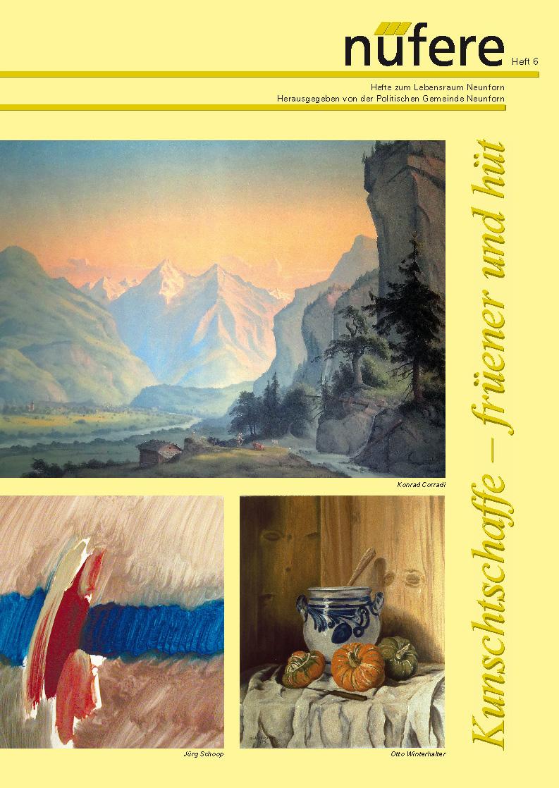 Heft Nr. 6 - Kunstschaffende